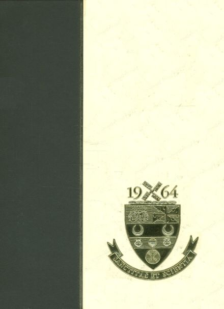 1964 Our Lady of Lourdes High School Yearbook Cover
