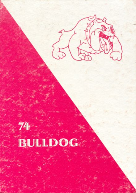 1974 Atlanta School Yearbook Cover