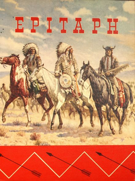 1962 Western High School Yearbook Cover