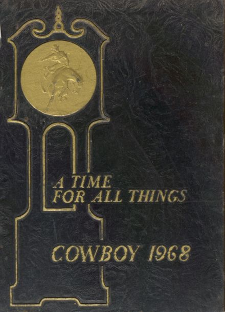 1968 Plains High School Yearbook Cover