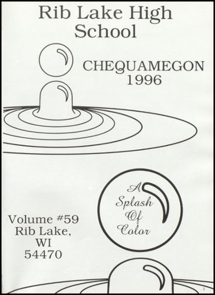 1996 Rib Lake High School Yearbook Page 5
