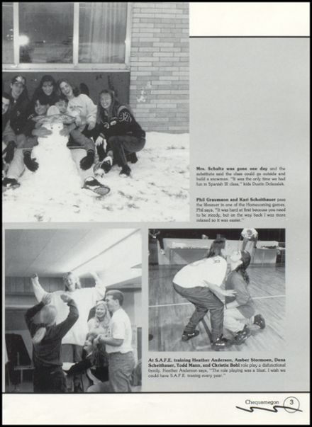 1996 Rib Lake High School Yearbook Page 7