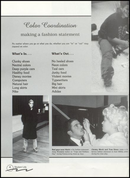 1996 Rib Lake High School Yearbook Page 8