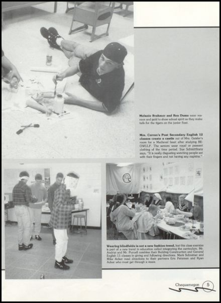 1996 Rib Lake High School Yearbook Page 9