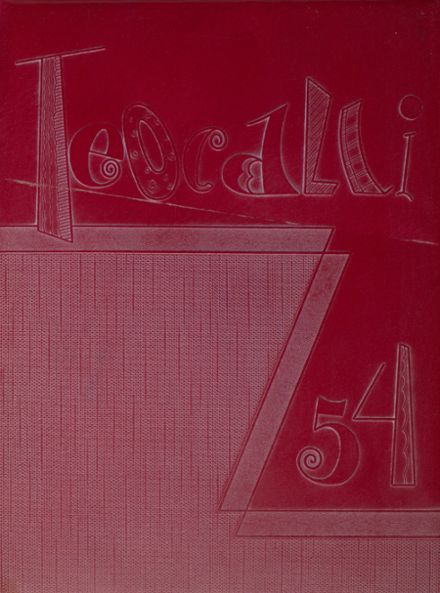 1954 Mark Keppel High School Yearbook Cover