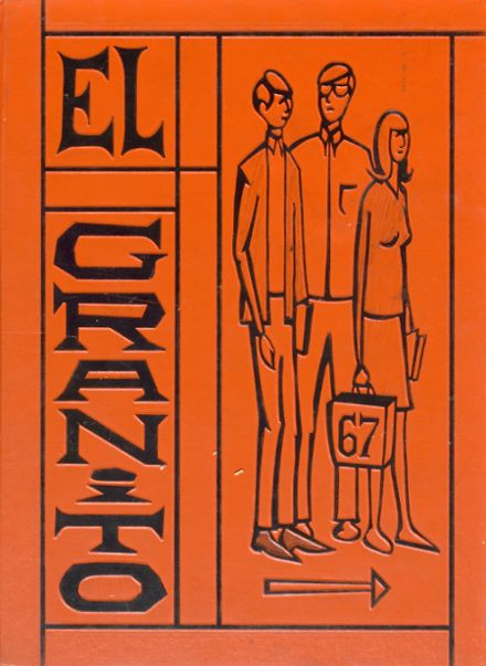 1967 Porterville High School Yearbook Cover