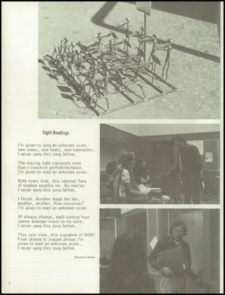 1976 RUHS/Richmond High School Yearbook Page 8