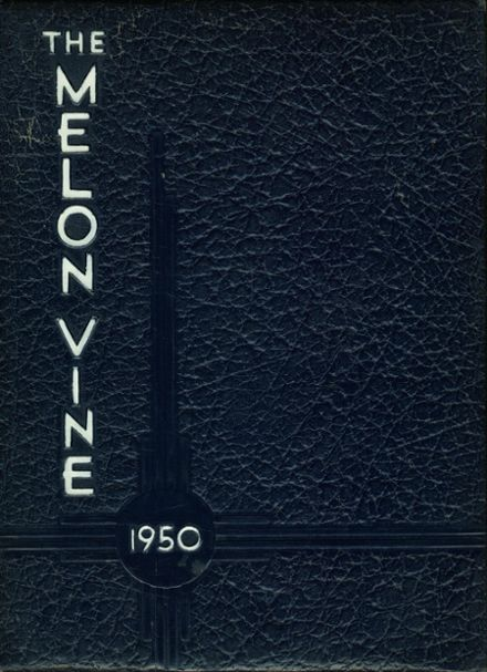 1950 Weatherford High School Yearbook Cover