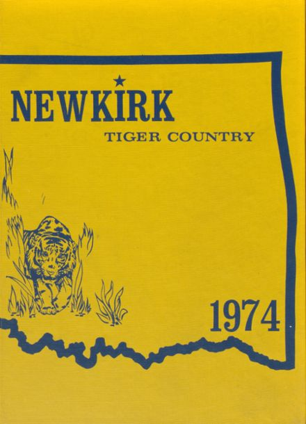 1974 Newkirk High School Yearbook Cover