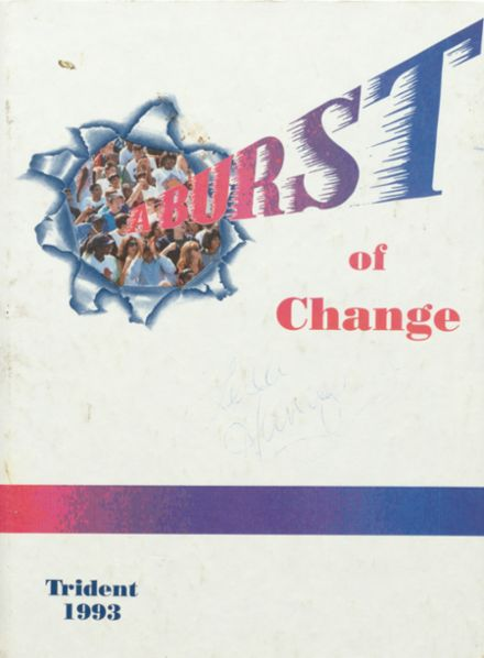 1993 Springbrook High School Yearbook Cover