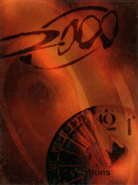 2000 Henderson County High School Yearbook Cover