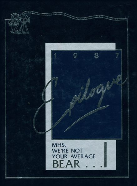 1987 Middletown High School Yearbook Cover