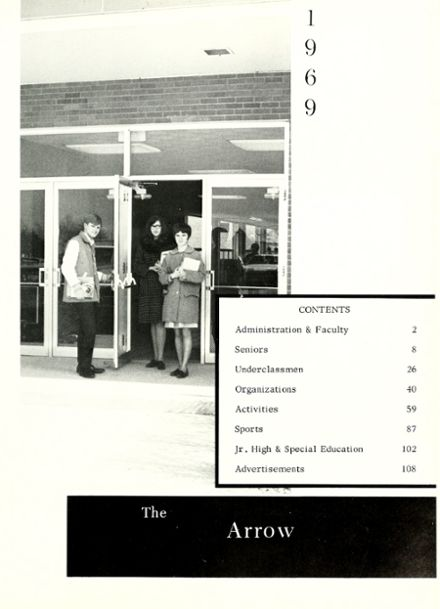 1969 Woodlan High School Yearbook Page 5