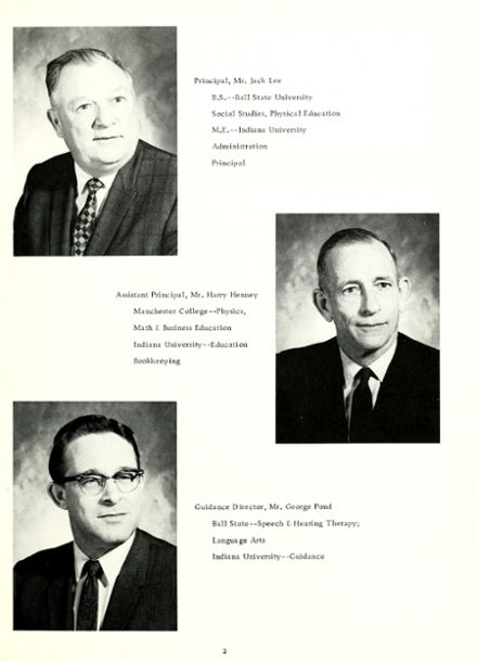 1969 Woodlan High School Yearbook Page 7