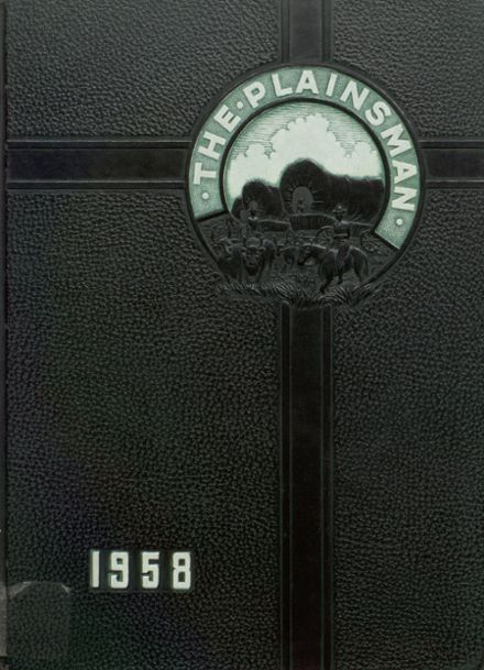 1958 Plainfield High School Yearbook Cover