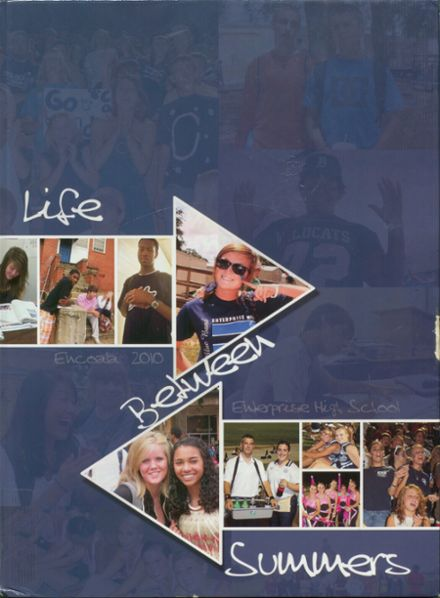 2010 Enterprise High School Yearbook Cover