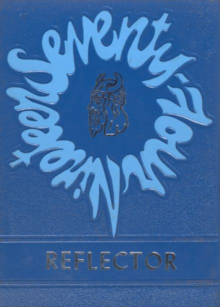 1974 Caribou High School Yearbook Cover