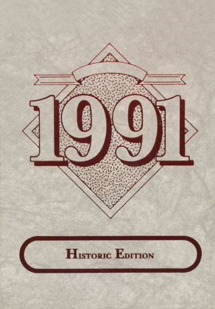 1991 Hollis High School Yearbook Cover
