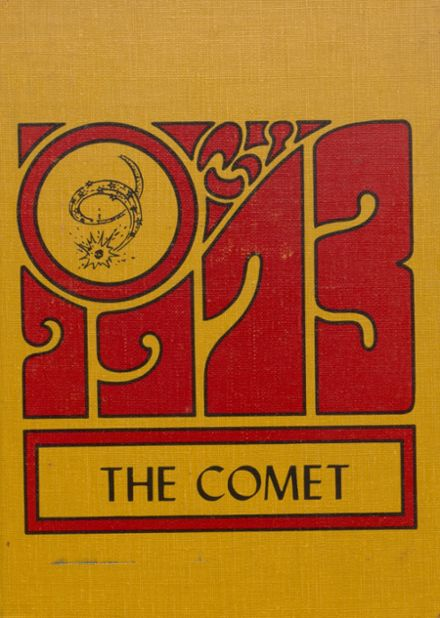 1973 Carlisle County High School Yearbook Cover