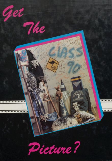 1990 Weatherford High School Yearbook Cover