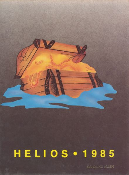 1985 South Shore High School Yearbook Cover