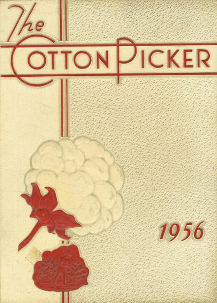 1956 Robstown High School Yearbook Cover