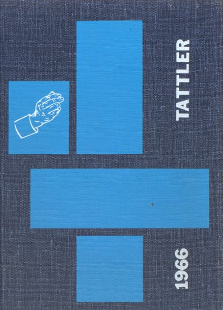 1966 Conneaut High School Yearbook Cover