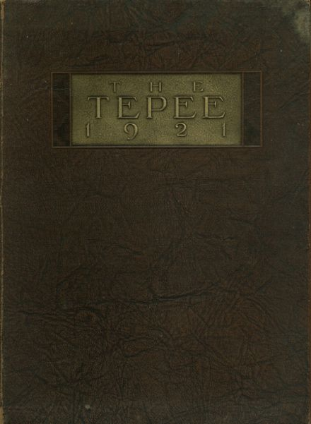 1921 Marlow High School Yearbook Cover
