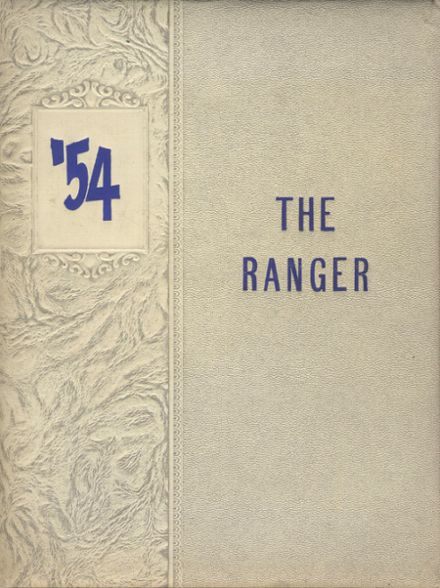 1954 Midvale High School Yearbook Cover