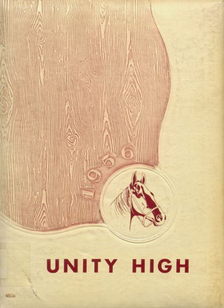1956 Unity High School Yearbook Cover