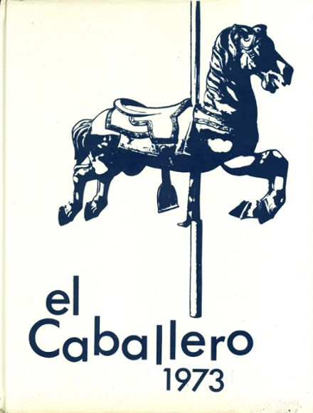 1973 St. Mary's High School Yearbook Cover