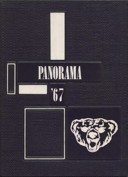 1967 Northern High School Yearbook Cover