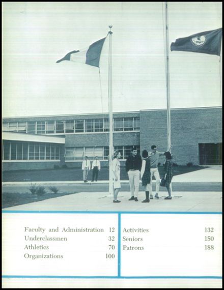 1964 Marshall High School Yearbook Page 6