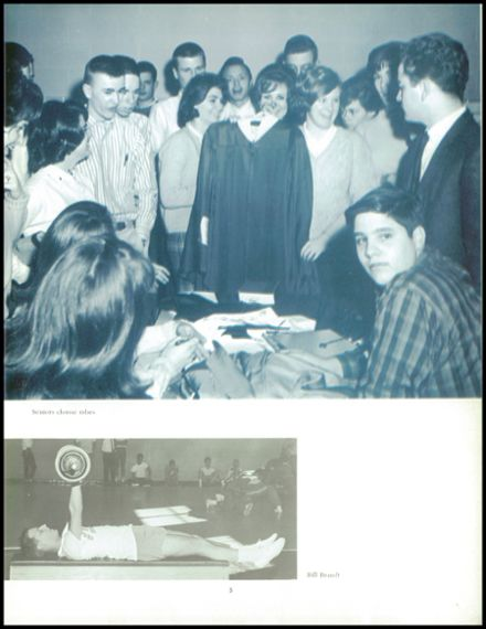 1964 Marshall High School Yearbook Page 9