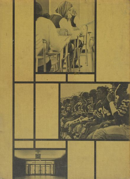 1969 New Trier East High School Yearbook Cover