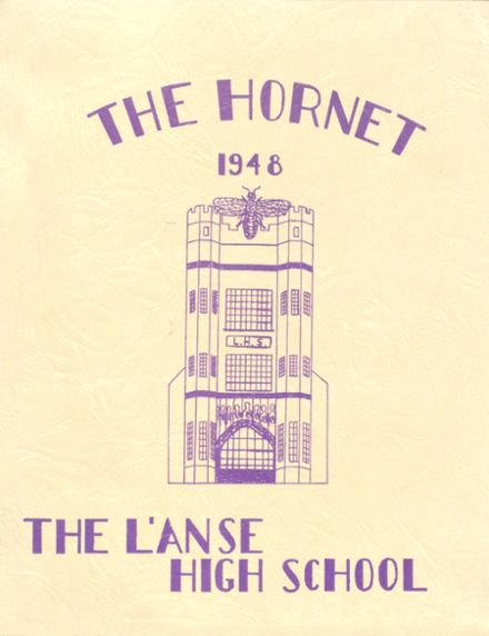 1948 L'Anse High School Yearbook Cover