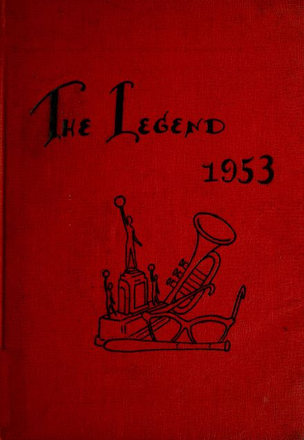 1953 Geneva High School Yearbook Cover