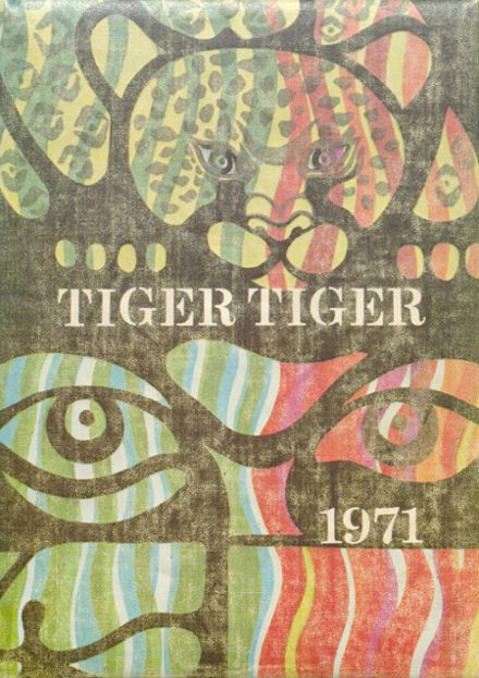 1971 Centreville High School Yearbook Cover