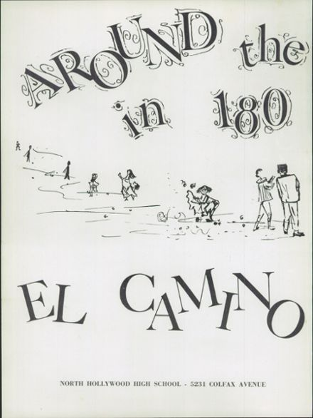 1958 North Hollywood High School Yearbook Page 6