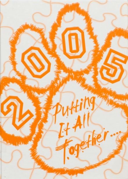 2005 Osceola High School Yearbook Cover