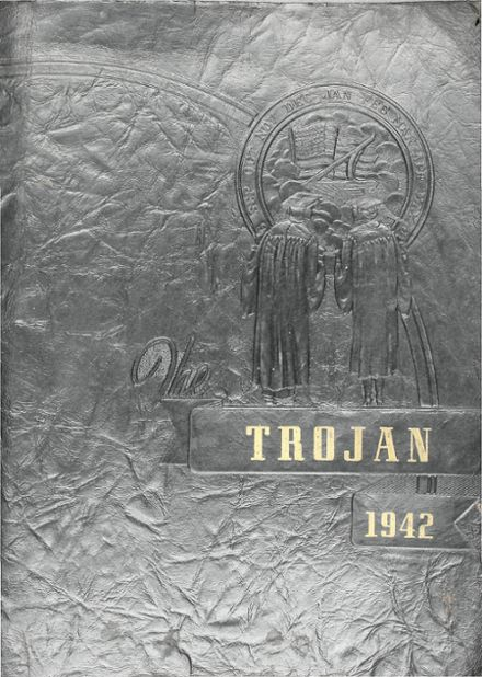 1942 Divide High School Yearbook Cover