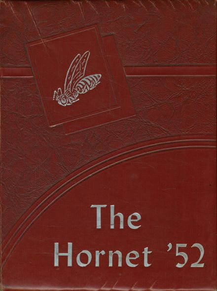 1952 Aspermont High School Yearbook Cover