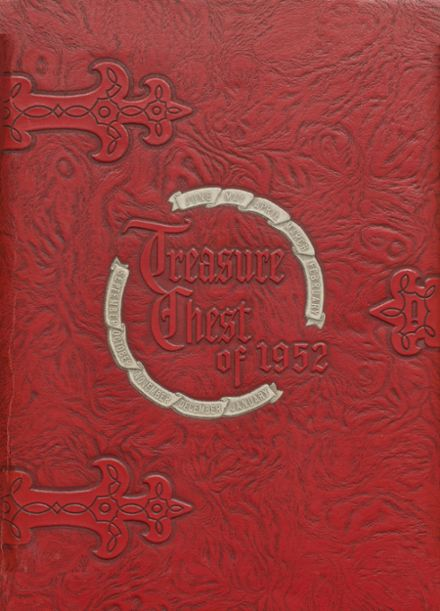 1952 Union High School Yearbook Cover