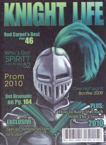 2010 Pen Argyl High School Yearbook Cover