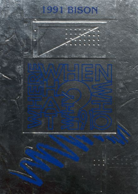 1991 North Iowa High School Yearbook Cover