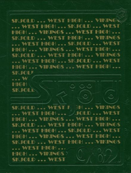 1982 Corning-Painted Post West High School Yearbook Cover