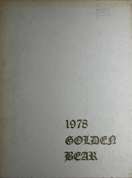 1978 South Oak Cliff High School Yearbook Cover