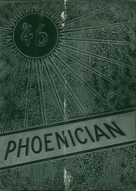 1946 Phoenix Union High School Yearbook Cover