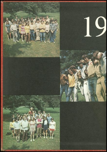 1973 Red Hook High School Yearbook Page 2