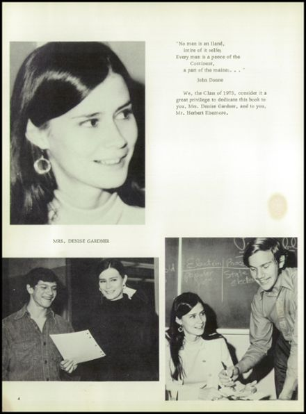 1973 Red Hook High School Yearbook Page 8